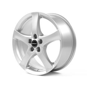 Литой диск Borbet F 7.0x17 5x108 ET40 d72.5 Brilliant Silver