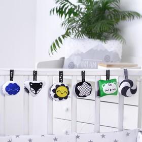 Погремушка-подвеска на кроватку  по методике Г. Домана  Набор из 6 игрушек