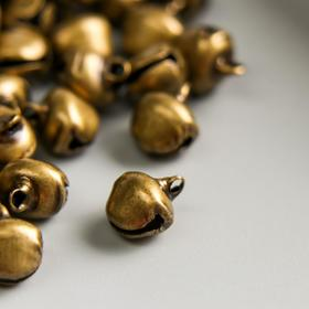 """Set decor art metal """"bronze"""" d=0.8 cm set of 60 PCs"""
