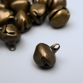 """Set decor art metal """"bronze"""" d=1.4 cm set 30 PCs"""