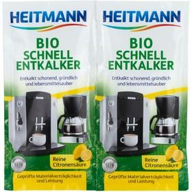 Чистящее средство от накипи Heitmann «Экспресс БИО», 2 шт. по 25 г