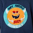 "Худи детское KAFTAN ""Hungry"" р.30 (98-104 см), синий - фото 105716595"