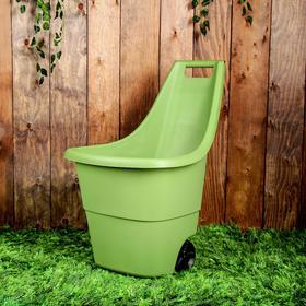Тележка садовая Easy Go Breeze, 50 л, зелёная