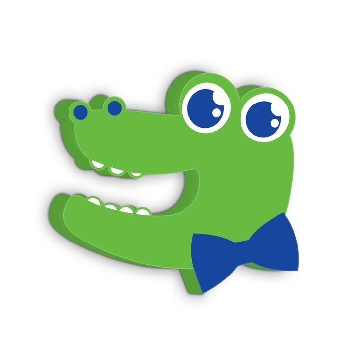 """Набор блокираторов """"Крокодильчик"""": стопер EVA, универсальный гибкий, 2 шт"""