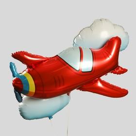 """Букет из шаров """"Самолет"""", набор 3 шт"""