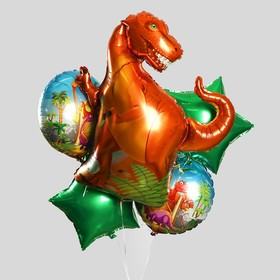 "A bouquet of balloons ""Dinosaur"", set of 5 PCs"