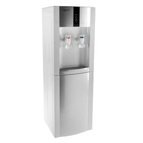 Кулер для воды LESOTO 16 LD/Е, с охлаждением, 615 Вт, бело-серебристый