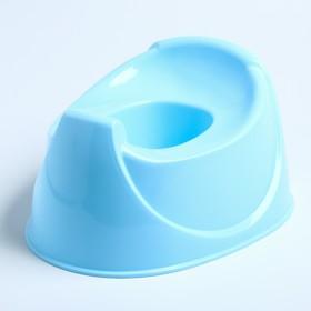 Горшок детский Бамбино, цвет голубой