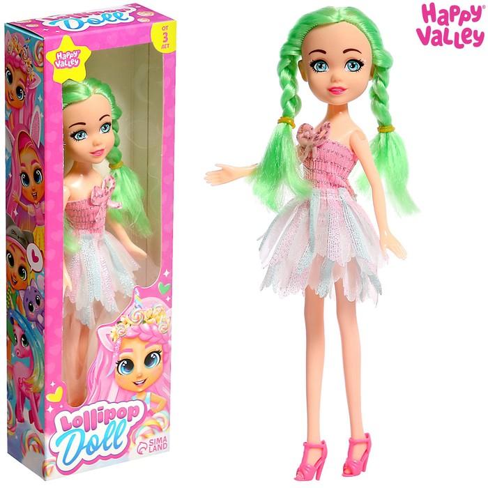 Кукла Lollipop doll цветные волосы, цвета МИКС