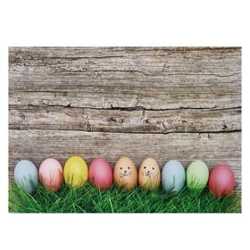 """Фотофон винил """"Крашенные яйца"""" 80х125 см"""