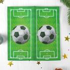 "Napkin paper ""Football Duo"", 22 PCs, 2 layers"