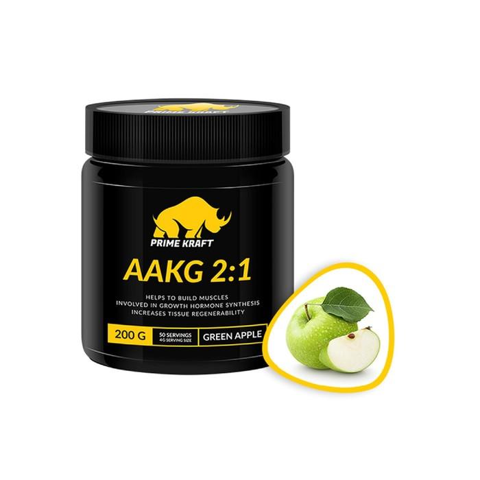 AAKG 2:1 PRIME KRAFT green apple, зеленое яблоко 200 г.