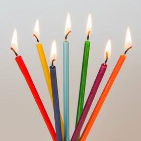 Набор для медитаций «Чакры», 7 шт, 0,5×15 см, цвет семь цветов радуги