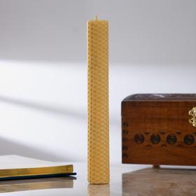 Свеча из вощины с базиликом, 2,2×21 см
