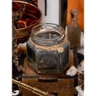 Свеча-талисман «Божественная кара», ароматическая, 6,5×5,4 см, цвет серый