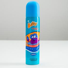 Пена для игры Baffy в ванне, цветная, голубая, 75 мл