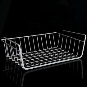 Basket hanging 35x23x11.5 cm, color white