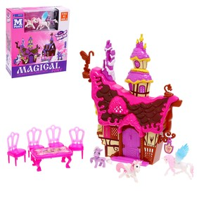 Set pony house with accessories