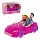 "A set of dolls ""Family"" car MIX"