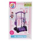 Игровой набор для уборки «Заботливая хозяйка», на колёсах - фото 105579055
