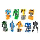 Набор роботов «Техника», трансформируется, 9 штук - фото 105502410