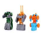 Набор роботов «Техника», трансформируется, 9 штук - фото 105502420