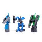 Набор роботов «Техника», трансформируется, 9 штук - фото 105502422