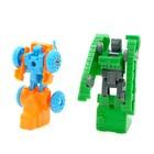 Набор роботов «Техника», трансформируется, 9 штук - фото 105502414
