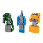 Набор роботов «Техника», трансформируется, 9 штук - фото 105502415