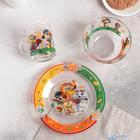 Набор посуды детский «44 котёнка», 3 предмета - фото 105460023