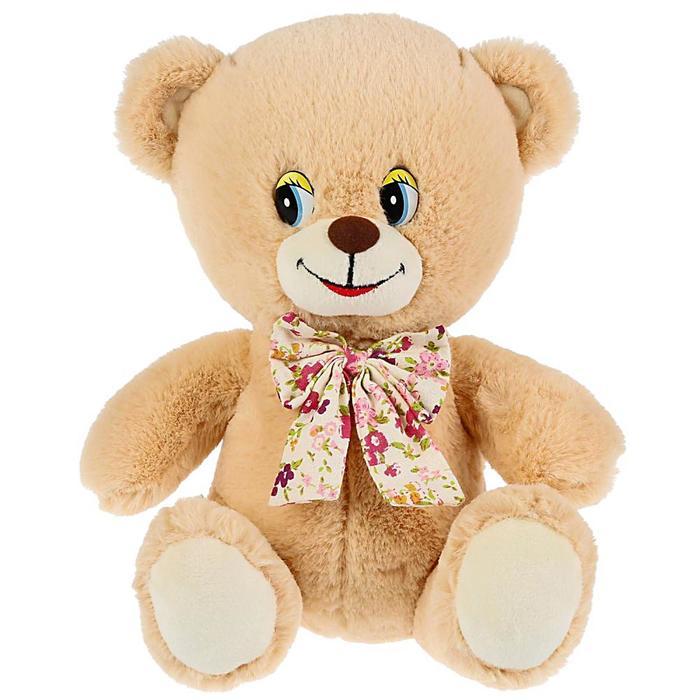 Мягкая игрушка «Медведь» 22 см, воспроизводит стихи Дружининой