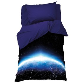 Постельное бельё 1,5 сп. Этель «Бесконечность» 145×210 см, 150×210 см, 50×70 см-1 шт, поплин, 100 % хлопок
