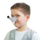 Карнавальный нос мыши с зубами, поролон