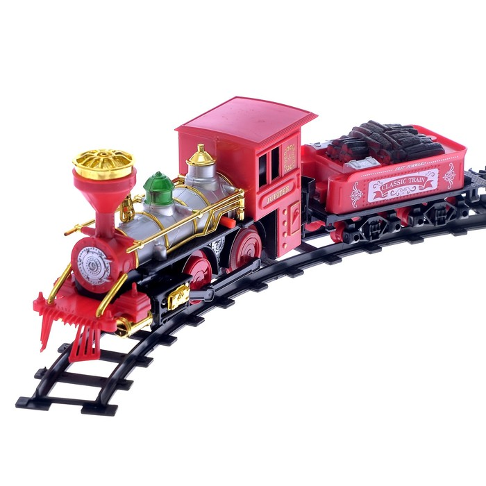 """Железная дорога """"Классик"""", звук, дымовые эффекты, протяжённость пути 2,8 м"""