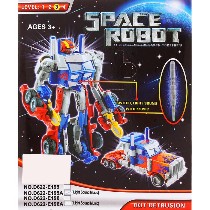 Робот-трансформер «Оптимус», световые и звуковые эффекты, цвета МИКС