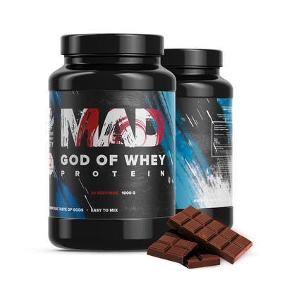 The MAD GOD OF protein WHEY, chocolate 100 g
