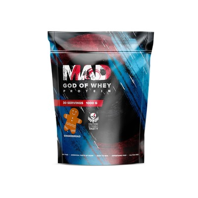 The MAD GOD OF protein WHEY (package ) gingerbread 1000.