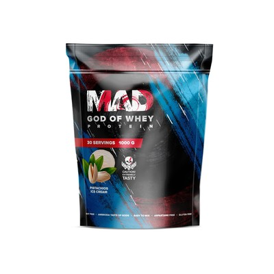 The MAD GOD OF protein WHEY (package ) pistachio 1000.