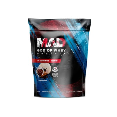 The MAD GOD OF protein WHEY (package ) chocolate 1000 g