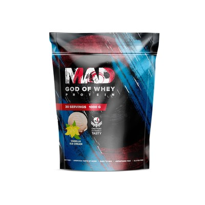 The MAD GOD OF protein WHEY (package ) vanilla 1000 g
