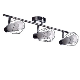 0408/3 3x40W lamp E14 chrome 48x19x16cm
