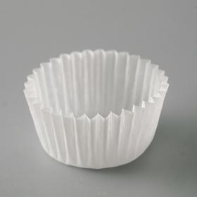 Тарталетка, белая, 2,5 х 1,6 см