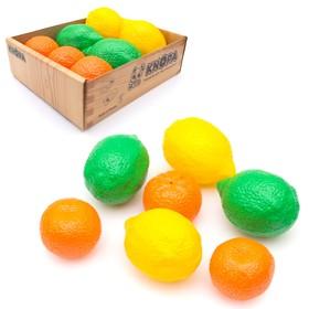 Набор малый ящик «Цитрусовый», 7 элементов