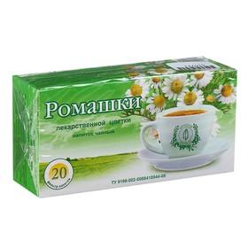 Чайный напиток Ромашка цвет, фильтр-пакет, 20 шт.