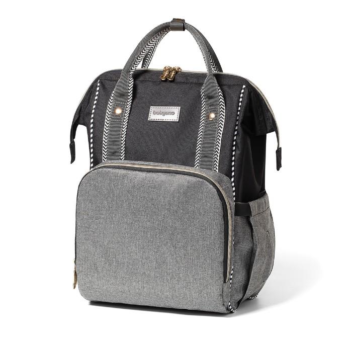 Сумка-рюкзак для мамы BabyOno Oslo Style, цвет серый