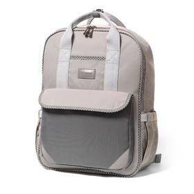 Сумка-рюкзак для мамы BabyOno London Look, цвет серый