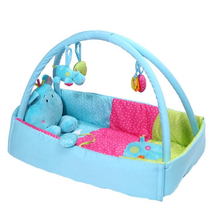 Развивающий коврик BabyOno «Бегемотик»