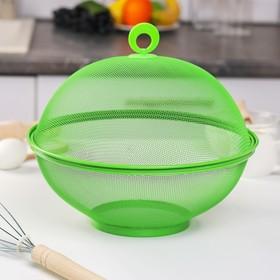 {{photo.Alt || photo.Description || 'Сито с крышкой для хранения продуктов Доляна «Вкус», d=29 см, цвет МИКС'}}