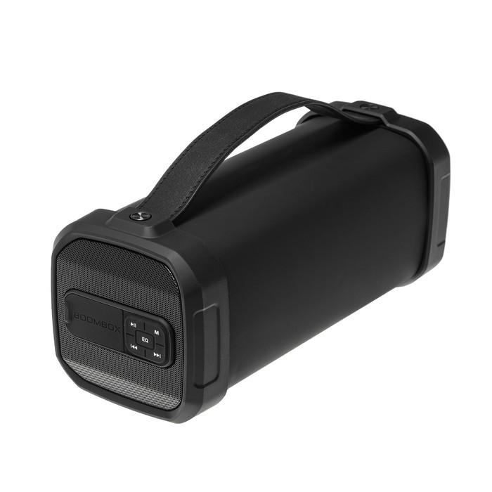 Беспроводная портативная колонка Perfeo A4319, microSD, USB, AUX, 10 Вт, 2200 мАч, черная