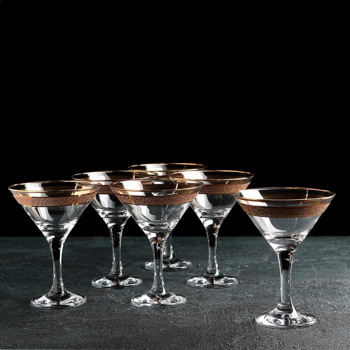 """Набор фужеров для мартини 170 мл """"Кристалл Бистро"""" 6 шт"""